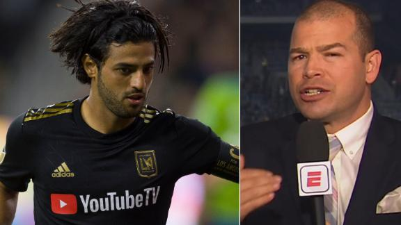Moreno: Vela and Rossi disappeared when LAFC needed them