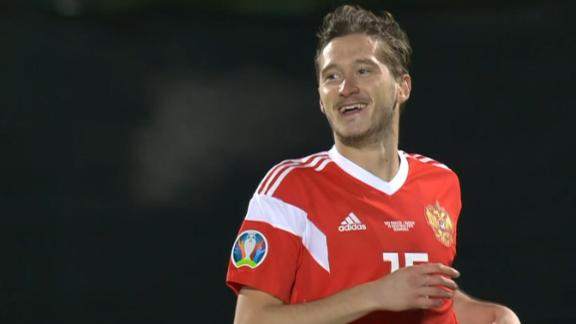 Russia cruise to 5-0 win vs. San Marino