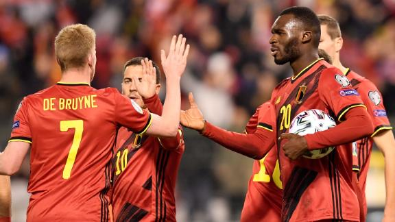 Belgium quickly cancel out early Cyprus goal