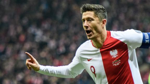 Lewandowski's amazing run and goal for Poland
