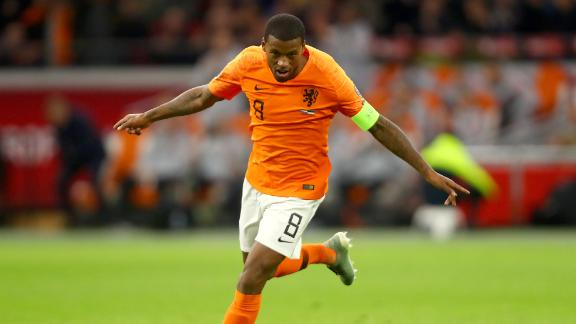 Wijnaldum hat trick as Netherlands romp vs. Estonia