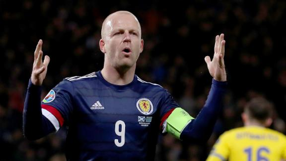 Steven Naismith scores against Kazakhstan