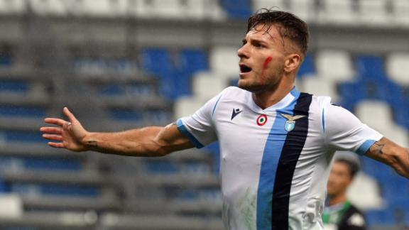 Stoppage-time goal extends Lazio win streak to 5