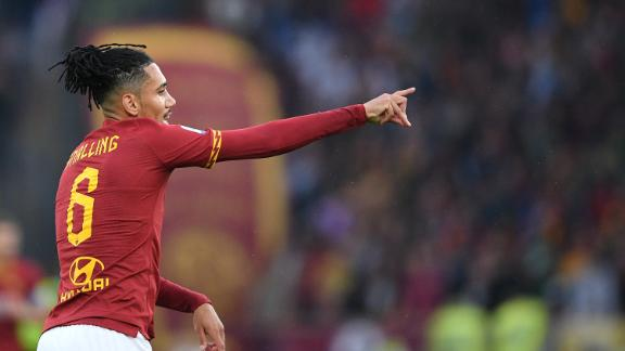 Chris Smalling scores as Roma beat Brescia 3-0