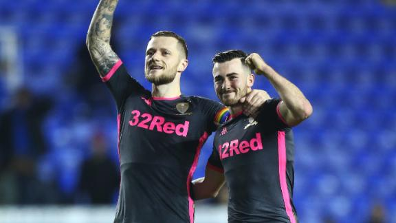 Leeds go top with late win vs. Reading