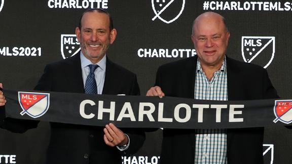 Garber considers Charlotte and MLS a perfect combination