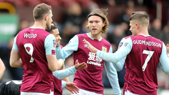 Burnley ease past Peterborough United