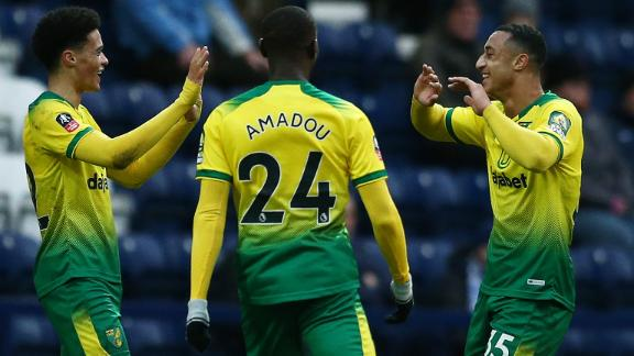Idah scores hat trick in easy Norwich win