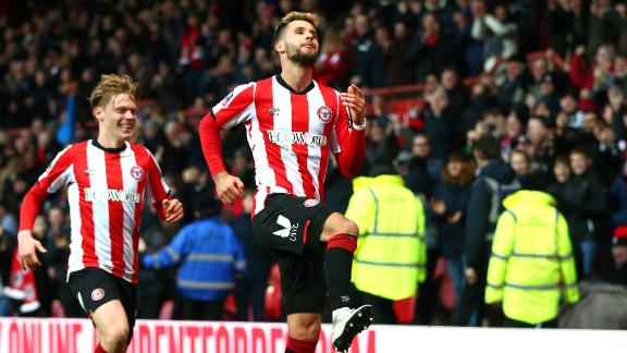 High-flying Brentford down Stoke in FA Cup 3rd round