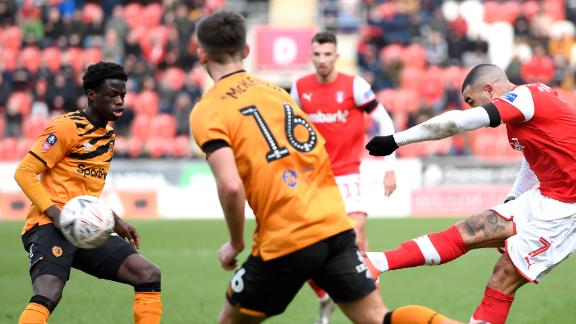 Vassell's screamer not enough as Hull City down Rotherham