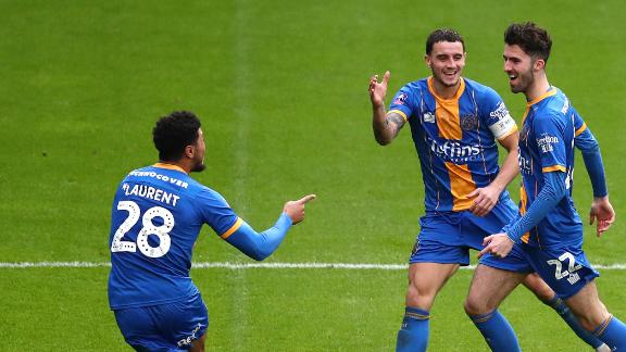 Shrewsbury come back to earn 3rd round replay vs. Bristol City