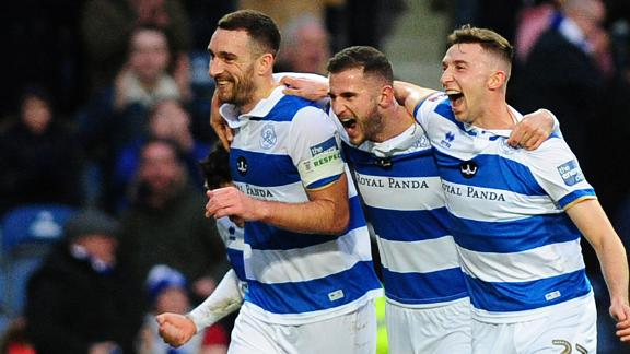 Pair of incredible volleys help QPR smash Swansea