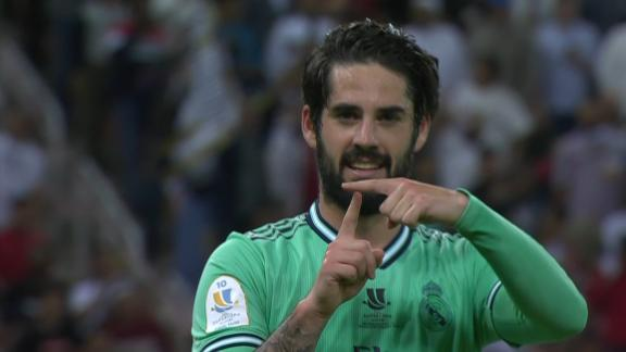 Isco volleys Real Madrid into a 2-goal lead