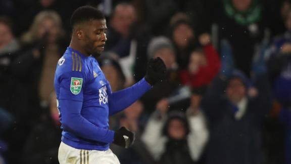 Iheanacho ensures deserved draw for Leicester in first leg