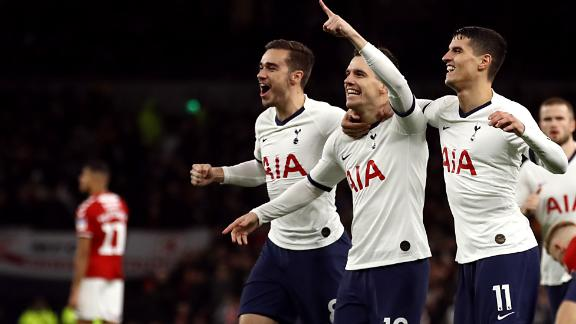 Spurs hold off Boro to reach fourth round