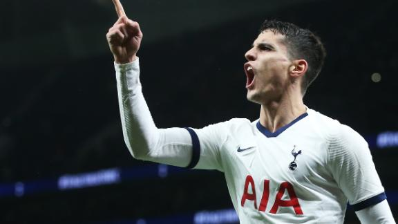 Lamela doubles Spurs' lead with solo effort