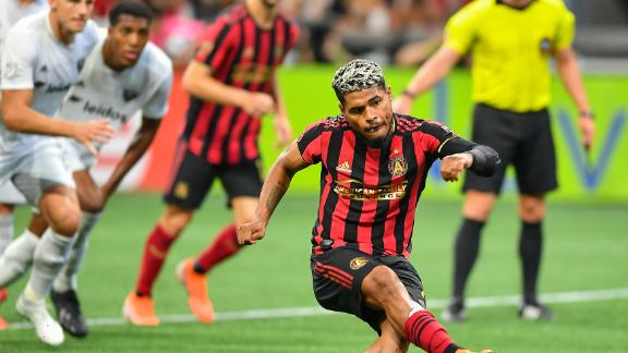 FC panel grill Josef Martinez for unique penalty technique