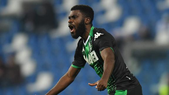 Sassuolo's Boga scores goal of the year candidate