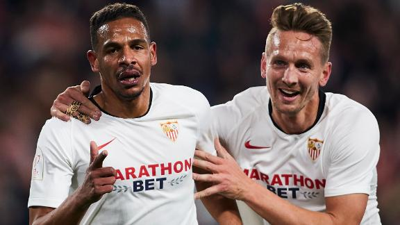 Sevilla advance past Levante to Copa del Rey last 16
