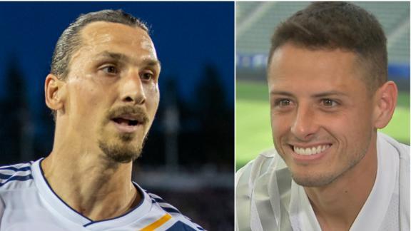 EXCLUSIVE: Chicharito not at LA Galaxy to fill Zlatan's boots