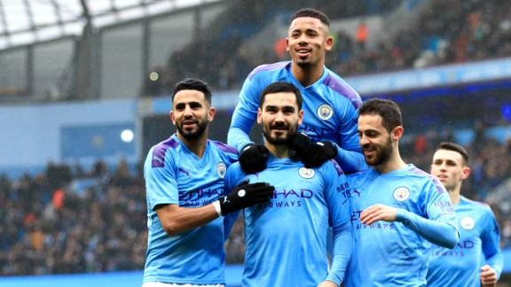 City thrash Fulham in FA Cup