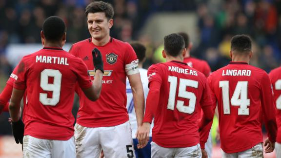 Manchester United put 6 past Tranmere Rovers