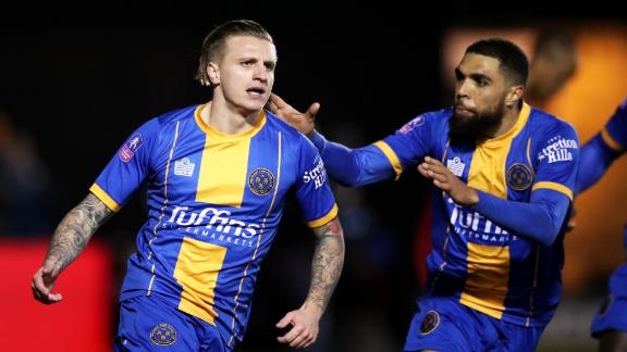 Shrewsbury super sub shocks Liverpool