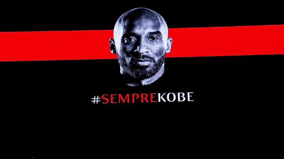 AC Milan honor lifelong fan Kobe Bryant before match