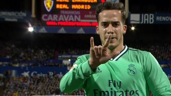 Lucas Vazquez doubles Real Madrid's advantage
