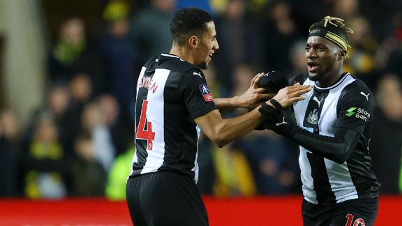 Newcastle win late vs. Oxford to reach FA Cup 5th Round