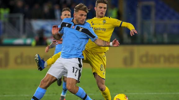 Lazio left frustrated by Hellas Verona