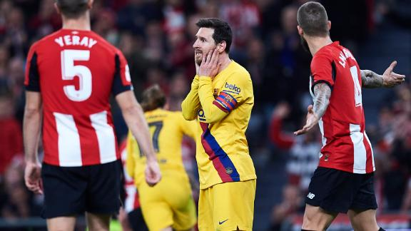 Athletic Bilbao stun Barca to reach Copa del Rey semis