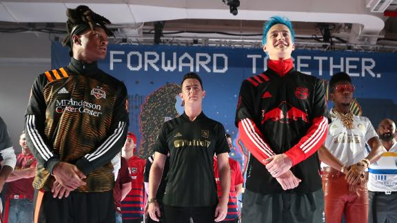 MLS shows off new kits during New York Fashion Week