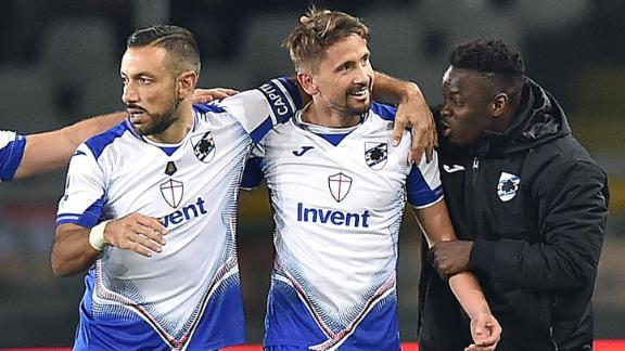 Sampdoria come back to thrash Torino