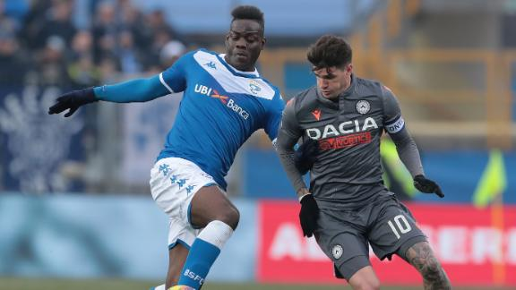 Udinese salvage late draw vs. Brescia