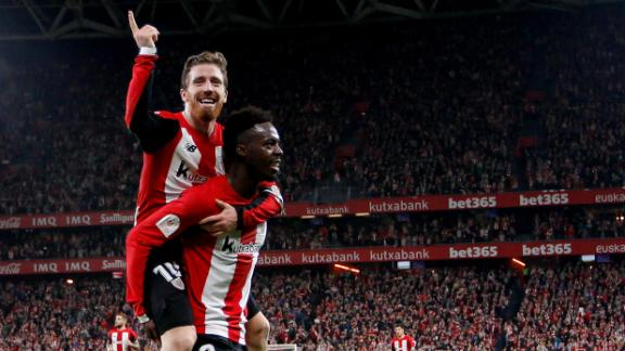Athletic lead Granada after Copa del Rey first leg