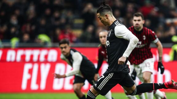 Ronaldo's stoppage-time penalty brings Juve level