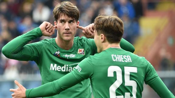 Fiorentina smash Sampdoria 5-1
