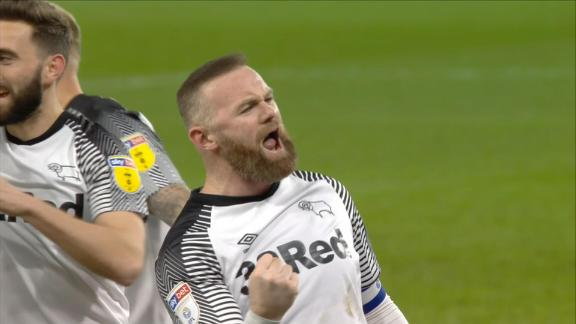 Wayne Rooney scores panenka in Derby draw