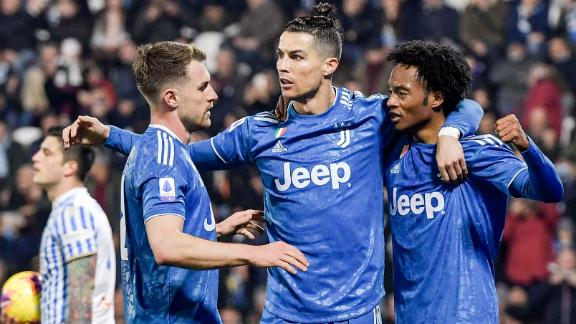 Ronaldo ties Serie A scoring record in win vs. SPAL