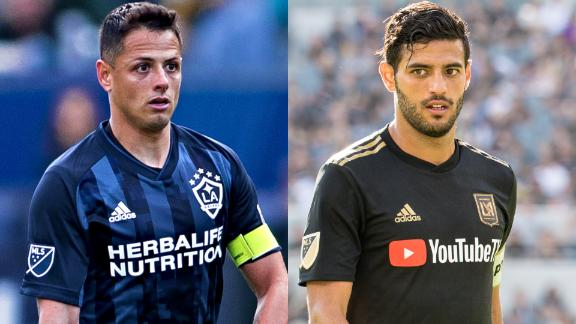 Who will score more goals: Chicharito or Carlos Vela?