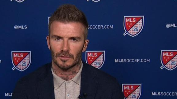 Beckham talks MLS growth and Inter Miami academy