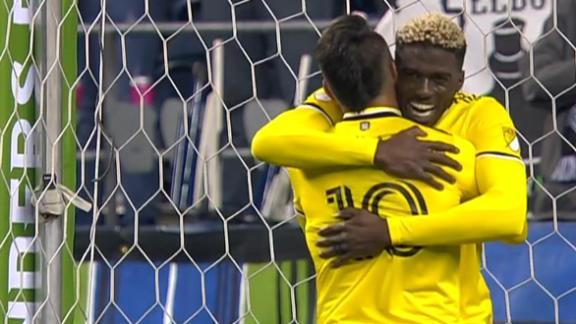 Zardes puts Columbus in front in Seattle