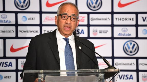 Carlos Cordeiro resigns as U.S. Soccer Federation president