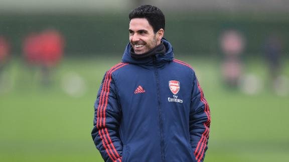 Arteta details his experience with coronavirus
