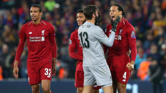 Was Liverpool's 2019 UCL comeback vs. Barcelona the best of the decade?
