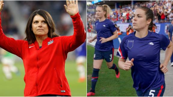 Hamm: U.S. Soccer's legal argument against USWNT was a gut punch