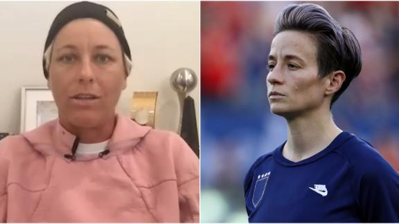 Wambach credits Rapinoe, USWNT for prompting change