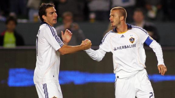 Gordon: Beckham taught MLS stars how to act