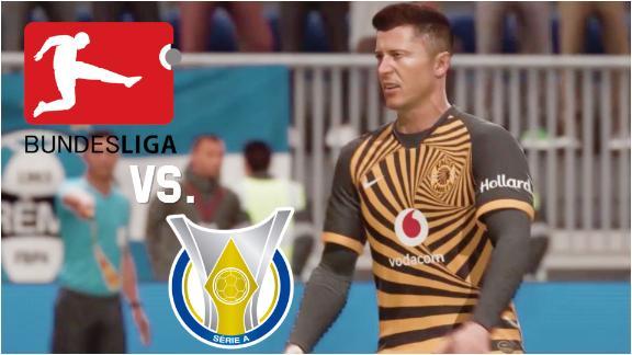 Battle of the Soccer Leagues: Bundesliga & Brasileirao square off
